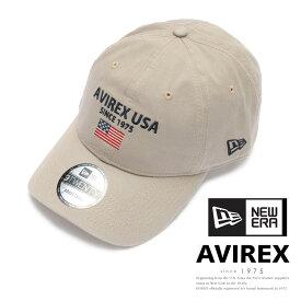 AVIREX 公式通販 ・直営店限定| 【AVIREX×NEW ERA】9トウェンティ ポロキャップ USAフラッグ9TWENTY POLO CAP U.S.A FLAGメンズ 男性 レディース 女性 男女兼用 ユニセックス
