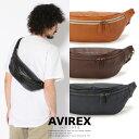 AVIREX 公式通販 | ブルト レザーウェストバッグ/WEST BAG牛革 革 肩掛け(アビレックス アヴィレックス)