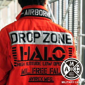 AVIREX 公式通販【Military Camp キャンペーン対象】 | MA-1 モデファイ ハロ/MA-1 MOD HALO【送料無料】(アビレックス アヴィレックス)メンズ 男性 ma1