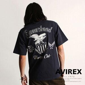 AVIREX公式通販|【WEB&DEPOT限定】フィフスエアフォース刺繍Tシャツ/EMBROIDERYFIFTHAIRFORCET-SHIRT【送料無料】(アビレックスアヴィレックス)