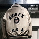 AVIREX 公式通販 | シグネチャー バーシティー ジャケット/SIGNATURE VARSITY JACKET(アビレックス アヴィレックス)メンズ 男性