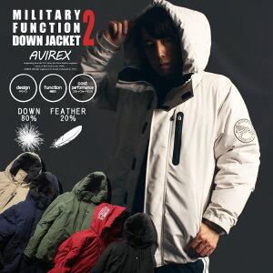 AVIREX公式通販|【WEB&DEPOT限定】ミリタリーファンクションダウン2/MILITARYFUNCTIONDOWN2(アビレックスアヴィレックス)