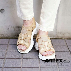 AVIREXBelle公式通販 サンダルレベッカ/SANDALREBECCA(アビレックスアヴィレックス)