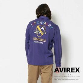 "AVIREX 公式通販 | ベトナムシャツ ファースト キャバルリ/L/S VIETNAM SHIRTS ""1st.CAVALRY""(アビレックス アヴィレックス)メンズ 男性"