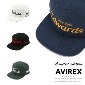 AVIREX 公式通販   【直営店限定】エアフォース ベースキャップ/AIR FORCE BACES CAP(アビレックス アヴィレックス)