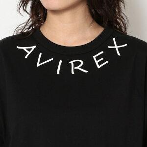 AVIREXBelle公式通販|【WEB&DEPOT限定】ネックロゴロングスリーブティーシャツ/NECKLOGOLST-SHIRT(アビレックスアヴィレックス)