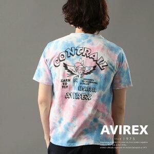 AVIREX公式通販 2トーンタイダイTシャツコントレイル/2-TONETIEDYET-SHIRTCONTRAIL/AVIREX/アヴィレックス(アビレックスアヴィレックス)