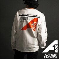 AVIREX公式通販|【AVIREXFLYER'S】ロングスリーブTシャツリコン/L/ST-SHIRTRECON/AF(アビレックスアヴィレックス)