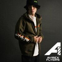 AVIREX公式通販|【AVIREXFLYER'S】スウェットパーカー/L/SSWEATPARKA/AF(アビレックスアヴィレックス)