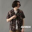 予約|AVIREX 公式通販 | 夏を彩るミリタリータッチな総柄アロハシャツ USAFA /ALOHA SHIRT USAFA/アヴィレックス/AVI…