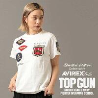 予約|AVIREX公式通販|【WEB限定】トップガンワッペンTシャツ/S/SCREWNECKTOPGUNWAPPENT-SHIRT(アビレックスアヴィレックス)