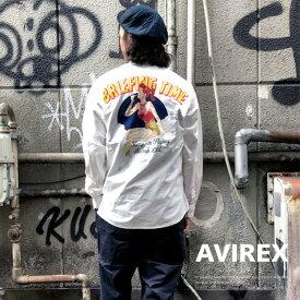 AVIREX 公式通販 | 長袖 ピンナップガール シャツ / LS PIN UP GIRL SHIRT(アビレックス アヴィレックス)