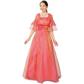 【ロングドレス】レース使いドレス KS-OP014-3311▼コンクール ステージ衣装 発表会