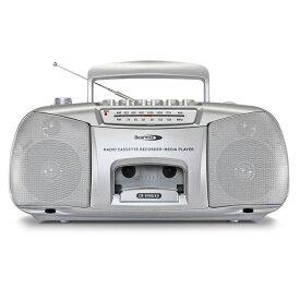 【オーディオ家電】簡単操作のシンプルラジカセ「デジカ」 Z1217-CR-999USD▼ポータブルラジカセ DIDICA