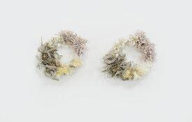 【アヴリル】毛糸 / カラフルピアス シナモン キット(糸,ピアス金具,レシピ)