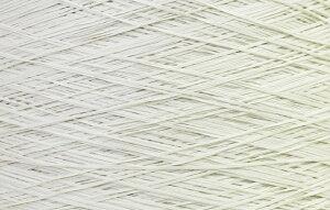 【アヴリル】毛糸 コットンギマ30g 綿100%, 合細 テープ(色名:1.ホワイト) / 手芸用 手編み 編み物 棒針 かぎ針 ハンドメイド 手づくり 擬麻 ギマ加工