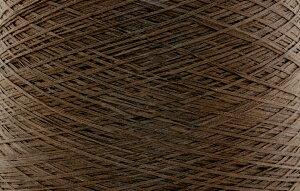 【アヴリル】毛糸 コットンギマ30g 綿100%, 合細 テープ(色名:10.モカ) / 手芸用 手編み 編み物 棒針 かぎ針 ハンドメイド 手づくり 擬麻 ギマ加工