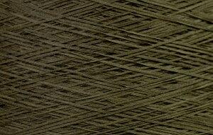 【アヴリル】毛糸 コットンギマ30g 綿100%, 合細 テープ(色名:9.カーキ) / 手芸用 手編み 編み物 棒針 かぎ針 ハンドメイド 手づくり 擬麻 ギマ加工
