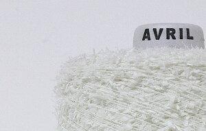【アヴリル】毛糸 和紙モール30g ラミー50%,ナイロン50% 極細 ファンシー / 手芸用 手編み 編み物 棒針 ハンドメイド 手づくり ナイロン糸 和紙 清涼感