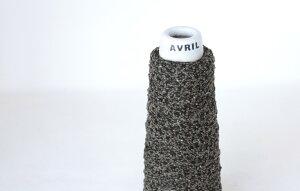 【アヴリル】毛糸 はしごテープ30g 綿51%,絹49% 並太 ファンシー / 手芸用 手編み 編み物 棒針 かぎ針 ハンドメイド 手づくり 綿糸 シルク テープヤーン