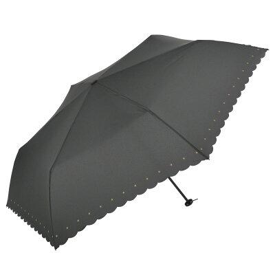 《2020秋冬》【雨傘】【UV】折傘シンプルモチーフカーボン軽量ミニ55