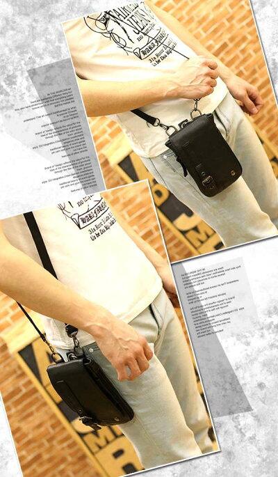 シザーバッグメンズシザーケースショルダーバッグベルトポーチミニバッグヒップバッグ鞄かばんレディース男性用旅行アウトドア自転車革フェイクレザー美容師トリマー父の日早割ギフト用