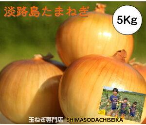 兵庫県淡路島産 玉ねぎ 5Kg たまねぎ 淡路島 玉葱 タマネギ