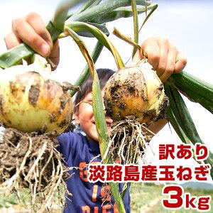 【訳あり】 玉ねぎ 3kg 兵庫県 淡路島産 タマネギ 淡路 淡路島 たまねぎ 玉葱 3キロ