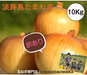 【訳あり】 兵庫県淡路島産 玉ねぎ 10kg  たまねぎ 淡路島 玉葱 タマネギ