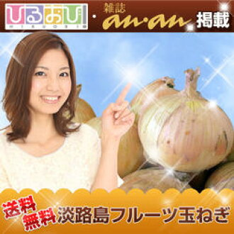 ●Awajishima fruit new onion 8 kilos that is what celebrity-like at 8 kilos for 1,650 yen 2,018 years●●