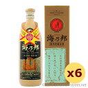 沖縄県酒造協同組合 / 海乃邦 10年古酒 43度,720ml ×6本セット