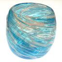 琉球ガラス:美ら海たるグラス(全7色):源河源吉【P15Aug15】