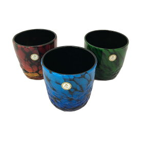 雲海3色 グラス 琉球ガラス 沖縄ギフト 沖縄お土産 お中元
