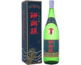 泡盛古酒 珊瑚礁 5年古酒 43度 1800ml [山川酒造 やまかわ さんごしょう / 1升瓶 一升瓶 / 泡盛クース]