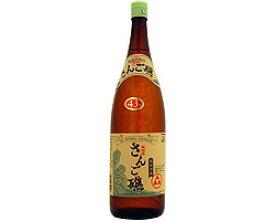 泡盛古酒 珊瑚礁 新酒 43度 1800ml [山川酒造 やまかわ さんごしょう / 1升瓶 一升瓶]