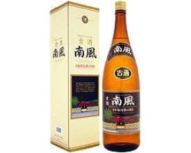 泡盛 南風(なんぷう)3年古酒 43度 1800ml [沖縄酒造組合 / 1升瓶 一升瓶 / 泡盛クース]