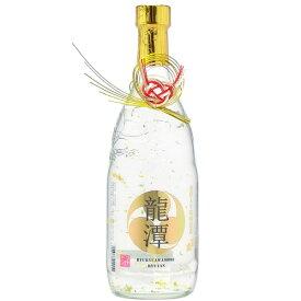 泡盛 金粉入り泡盛 龍潭(りゅうたん) 25度 720ml [石川酒造 いしかわ / 金箔 きんぱく / 4合瓶 四合瓶]