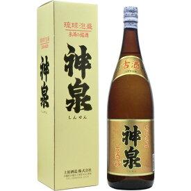 泡盛古酒 神泉(しんせん)古酒 (3年古酒100%) 43度 1800ml [上原酒造 うえはら / 1升瓶 一升瓶 / 泡盛クース]