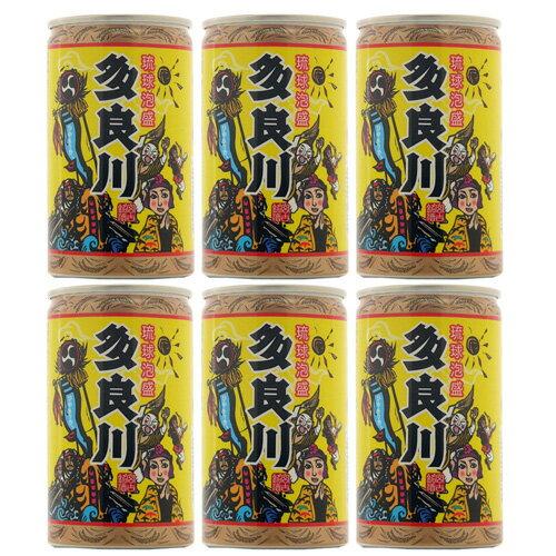 【泡盛】【多良川】飲みごろひやさっさ〜×6缶セット 【琉球泡盛_CPN】_初心者向け
