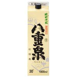 八重泉紙パック30度/1800ml