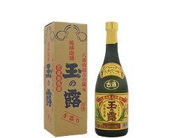 玉の露金ラベル古酒43度/720ml
