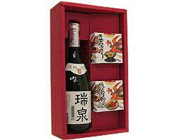 唐芙蓉(豆腐よう)&泡盛(瑞泉古酒)ギフトセット40度/720ml