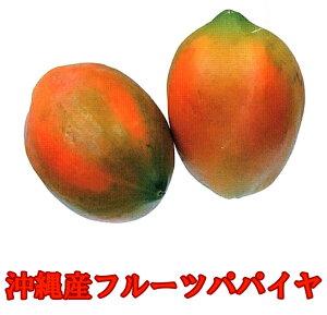 沖縄産フルーツパパイヤ 4kg(5-12玉入)送料無料