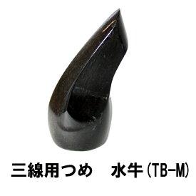 三線用 つめ 水牛 TB-M 高さ63mm x 底辺25mm