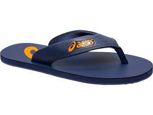 【asics アシックス】【シューズ 靴】サンダル 1173A007 FWソノタ SANDAL/サンダル メンズ・ユニセックス ZORIAN AS INDIGO BLUE/SHOCKING ORANGE 400[190217]