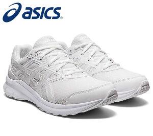 【あす楽】【asics アシックス】【2021年春夏モデル】【シューズ 靴】 ランニングシューズ ジョルト 3 靴幅:エクストラワイド 幅広 白スニーカー 通学 1011B041 101 ホワイト/ホ