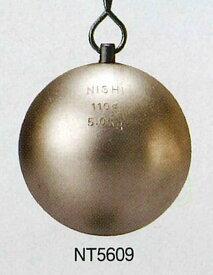 【送料無料】【NISHI ニシスポーツ】陸上競技 ハンマー (練習用) 5.0kg NT5609 [200406]