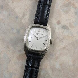 オーデマ ピゲ AUDEMARS PIGUET レディース アンティーク 腕時計 18KWG 金無垢 ホワイトゴールド スクエア トノー 時計 ヴィンテージ ウォッチ 女性用 ビンテージ 手巻き