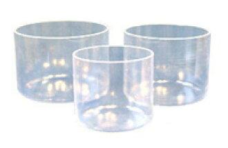 Kaliski clear does a Crystal singing bowl 7. 25-8-inch