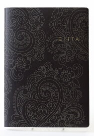 CITTA NOTE ブラック復刻版【A5ノート】【CITTA手帳と同じサイズ】